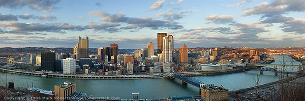 Pittsburgh at sunset - 7d601015